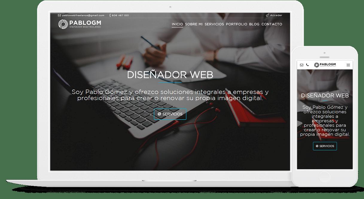diseñador web freelance